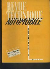 (C3A)REVUE TECHNIQUE AUTOMOBILE RENAULT COLORALE / Moteurs CUMMINS