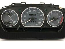 Daihatsu Sirion M100 98-05 Polished Aluminium Trim Rings Instrument Cluster 3pcs