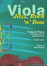 John Widger: Jazz, Rock 'n' Bow for Viola & Piano with CD SP406