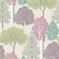 Ellwood Multi Trees Glitter Sparkle Feature Wallpaper Arthouse 670000