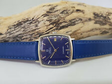 VINTAGE OMEGA SEAMASTER BLUE DIAL DATE AUTOMATIC MAN'S WATCH