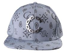 Crooks & Castles Men's Cement Monogram C Woven Strapback Baseball Hat Cap NWT