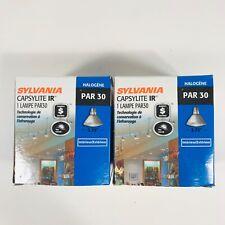 Sylvania Halogen Lamp Light 40 Watt Set Of 2 Directional Capsylite IR Par30
