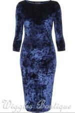 Cocktail Machine Washable Velvet Solid Clothing for Women
