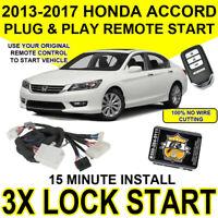 2013-2017 Honda Accord Key Start Plug & Play Remote Start PUSH TO START MODELS