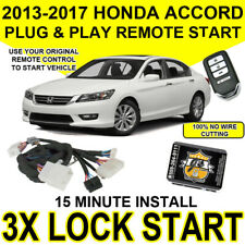 2013 2017 Honda Accord Key Start Plug Amp Play Remote Start Push To Start Models