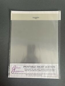 Crafters Companion Printable Inkjet Acetate