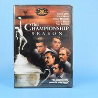 That Championship Season DVD - Martin Sheen - 1982 - The - BRAND NEW SEALED