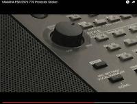 Für YAMAHA PSR-S970 Keyboard Schutz-Sticker für das Volumenrad