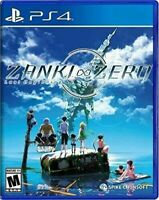 Zanki Zero PS4 Last Beginning PlayStation 4 Brand New Day One Edition
