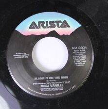 Pop 45 Milli Vanilli - Blame It On The Rain / Dance With A Devil On Arista