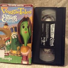 Esther VeggieTales VHS Childrens Christian Lessons Courage