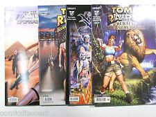 4 x Tomb Raider QUADERNO Arabian Nights, Epiphany, prestigiosi, Greatest Treasure