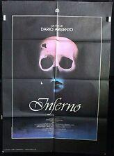 Manifesto 2 Fogli - Inferno di Dario Argento, con Irene Miracle, Alida Valli