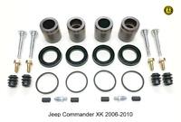 Pour Jeep Commande Xk Etriers de Frein Avant Complet Réparation Kit 2006-2010