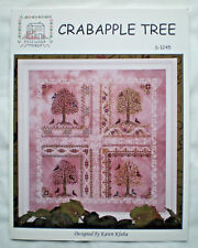 "Rosewood Manor / Karen Kluba ""Crabapple Tree"" Counted Cross Stitch Pattern"