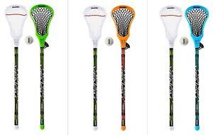 Franklin Sports Youth Recreational Lacrosse Starter Set, 2 Sticks & 1 Ball