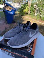 Men's Size 11 NIKE Tanjun Men's Grey White Running Shoes 812654 010🔥