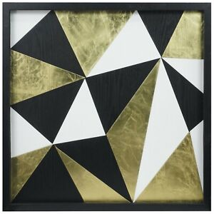 Abstract Puzzle Shadow Box Wall Décor