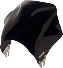 PUIG RAPTOR WINDSCREEN HEADLIGHT MOUNT (Black) Part# 0013N New Visor Only