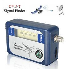 More details for dvb-t signal finder digital tv freeview hd aerial terrestrial strength meter uk