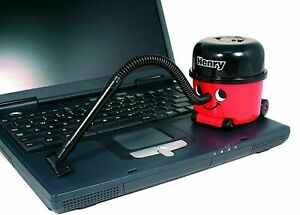 Mini Henry Hoover Desk Vacuum-Novelty Desktop Cleaner