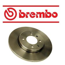 NEW BMW E30 318i 84-85 Front Disc Brake Rotor Solid Brembo 34 11 1 154 747