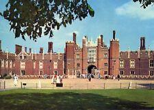 Hampton Court Palace : Great Gatehouse & Moat Bridge - West Front