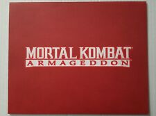 Mortal Kombat Armageddon Limited Edition Art Cell Midway