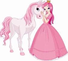 Wandtattoos für Kinder mit Prinzessinen und Feen Motiv