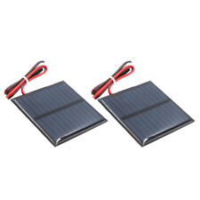 2pcs DIY Mini Solar Panel Small Cell Module Charger for Street Lamp 60x60mm
