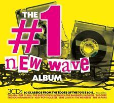 The #1 Album: New Wave - Various Artists (Box Set) [CD]