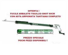 FUCILE ARBALETE SUB TIGULLIO SHOT 90CM NUOVO GUN SUBACQUEO PESCA APNEA COMPLETO