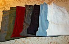 Lot of 7 Women's 14 Long Gloria Vanderbilt Amanda Slimming Tapered Jeans