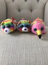 McDonalds Rainbow Tys Mini Soft Toys