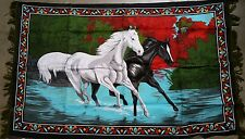 Black & White Horse wall Tapestry