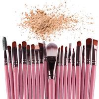 20PCS Cosmetic Makeup Brushes Set Professional Blender Powder Eyeshadow Brush