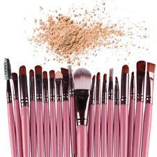 20PCS Cosmético Conjunto de Pinceles para maquillaje profesional cepillo de sombra de ojos polvo Licuadora