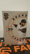 2016 San Francisco Giants BRANDON CRAWFORD 2015 GOLD GLOVE BOBBLEHEAD NIB SGA