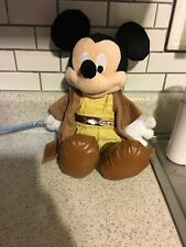 Disney Parks Star Wars Jedi Mickey Mouse Talking Plush