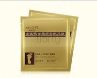 24K Gold Foot Peeling Mask Cuticle Callus Dead Skin Hard Dry Skin Exfoliating