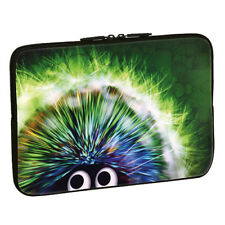 "Pedea Design Neopren Notebooksleeve bis 39 6cm (15 6"""") Green Hedgehog"