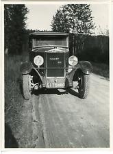 France, Voiture d'époque DONNET SIX  Vintage silver print. Vintage car  T