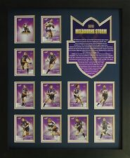 Melbourne Storms 2012 Framed Memorabilia  *Stock Clearance Sales*