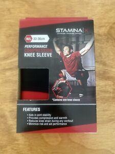 Stamina X COMPRESSION KNEE SLEEVE Medium/Large