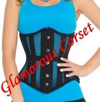 "Cotton Corset Waist Training Underbust Lone Line Tight lacing Size 18-40/"""