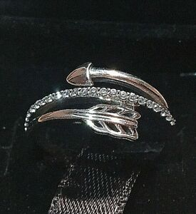 PANDORA SPARKLING ARROWS RING 197830CZ, S925 ALE STERLING SILVER, ALL SIZE