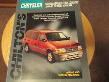CHILTON BOOKS 20300 Repair Manual Caravan Voyager Town & Country 1984-95 HAYNES