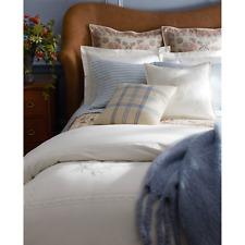 "$1000 NEW Ralph Lauren Large Ridge Throw Blanket CREAM  Fringe Mohair 54 x 72 """