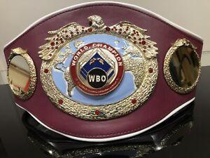 Official WBO WORLD CHAMPION-Championship Boxing Belt  -IBF, WBC, WBA , IBO